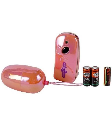Ovulo Vibrante Wireless Rosa