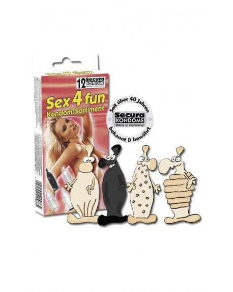 Sex 4 Fun Profilattici 12pz