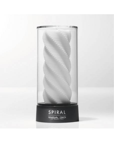 Tenga 3D Sculpted Ecstasy Bianco Spiral