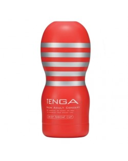Tenga Deep Throat Cup Original Rosso