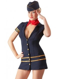 Costume da Hostess Blu