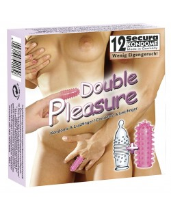 Profilattici Double Pleasure 12pz