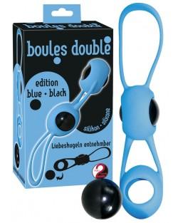 Boules Double Blu Nero