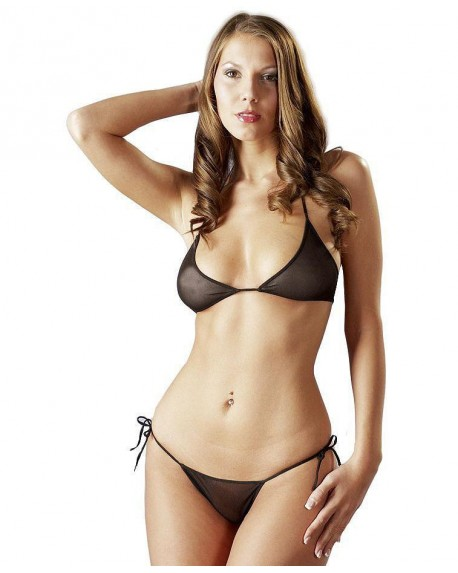 Bikini Tulle Nero