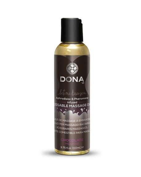 DONA - Kissable Massage Oil 110ml Cioccolato