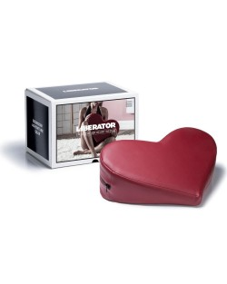 Cuscino Cuore Bordeaux Similpelle