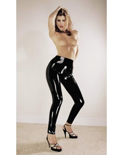 Leggings Latex Nero
