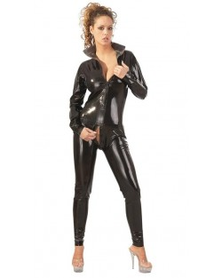 Catsuit Latex Nero