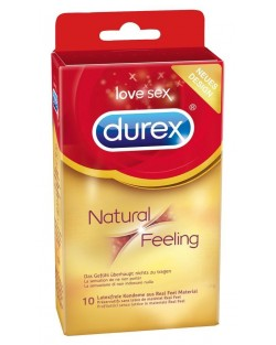 Durex Natural Feeling - Senza Lattice - Trasparente 10pz