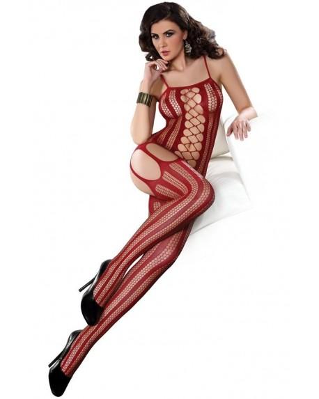 Calze-Body ALMAS Rosso Elasticizzato