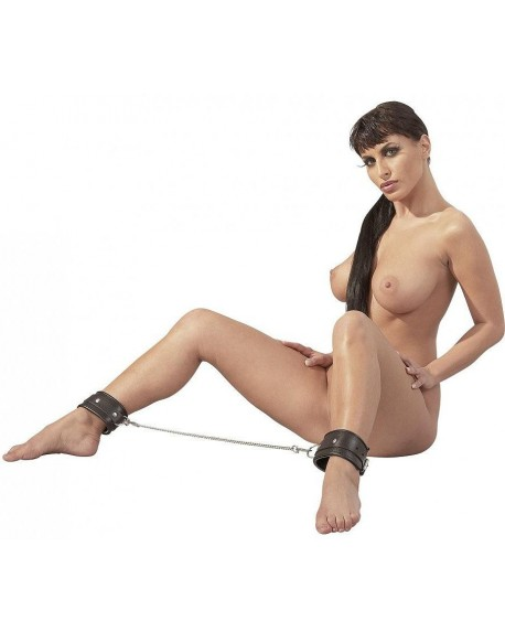 Cavigliere Pelle Nero