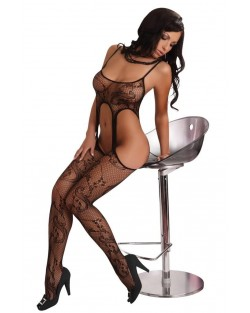 Bodystocking PRALINE Nero Rete