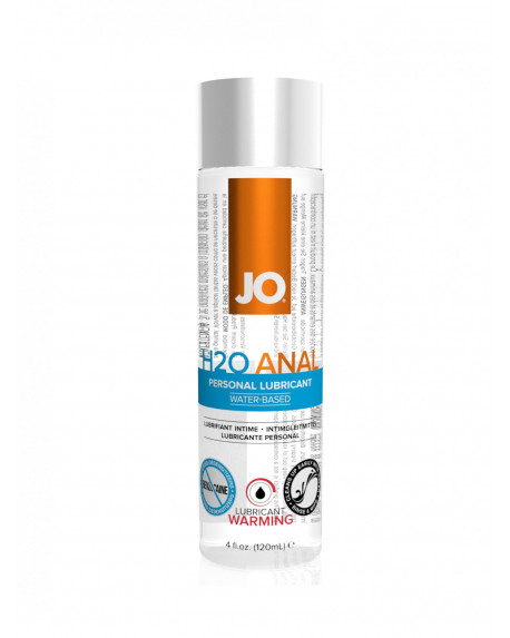H2O Anal Lubricant Warming 120ml