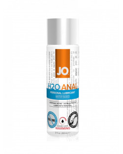 H2O Anal Lubricant Warming 60ml