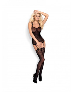 OBSESSIVE BODYSTOCKING F206 Nero