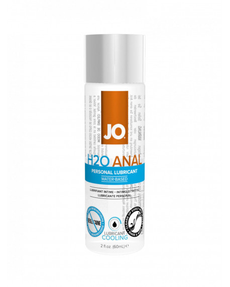 H2O Anal Lubricant Cooling 60ml