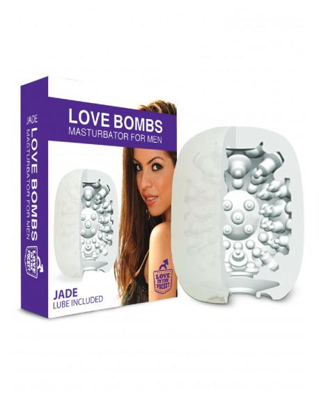 LOVE BOMBS - MASTURBATORE JADE Trasparente