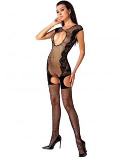 PASSION - BODYSTOCKING BS082 Nero Rete